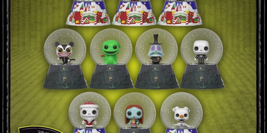 nightmare before christmas snow globes mystery minis coming soon to hot topics diskingdomcom disney marvel star wars merchandise - Nightmare Before Christmas Snow Globes