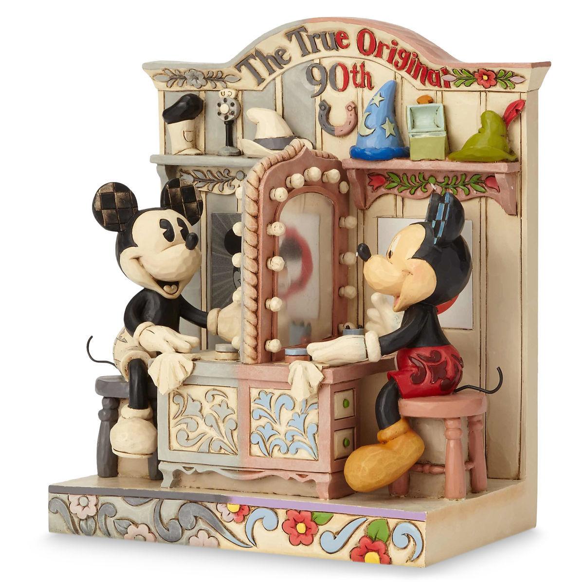Mickey Mouse Quot The True Original Quot 90th Anniversary Jim Shore Disney Traditions Figurine