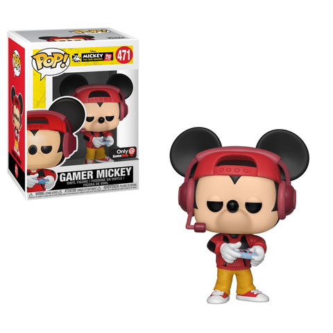 Gamer Mickey Pop Vinyl Out Now At Gamestop Diskingdom