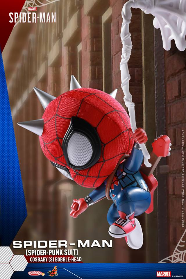 Marvel S Spider Man Cosbaby Bobble Head Coming Soon