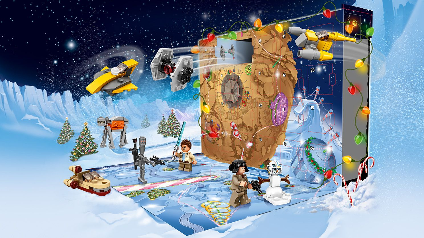 New Lego Star Wars Advent Calendar Out Now Diskingdom