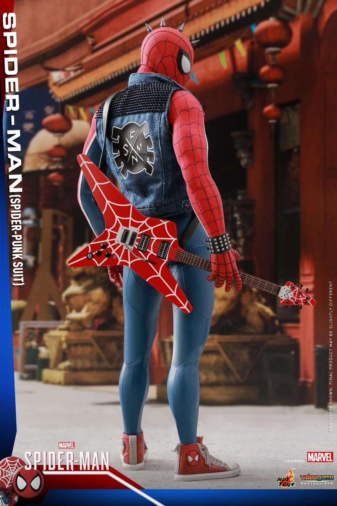 MarvelsSpiderManSpiderPunkSuitCollectibleFigure