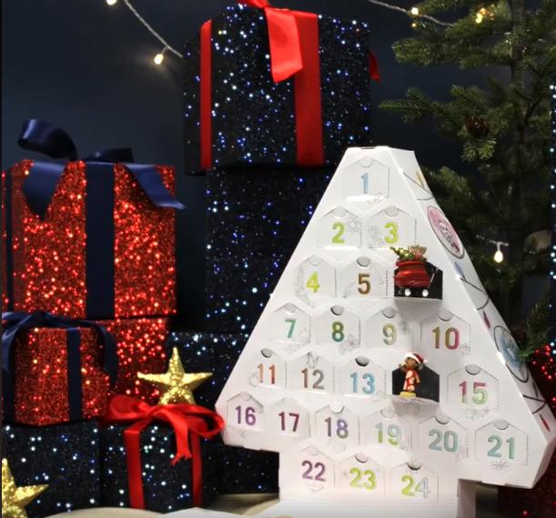 three new disney advent calendars announced for europe. Black Bedroom Furniture Sets. Home Design Ideas