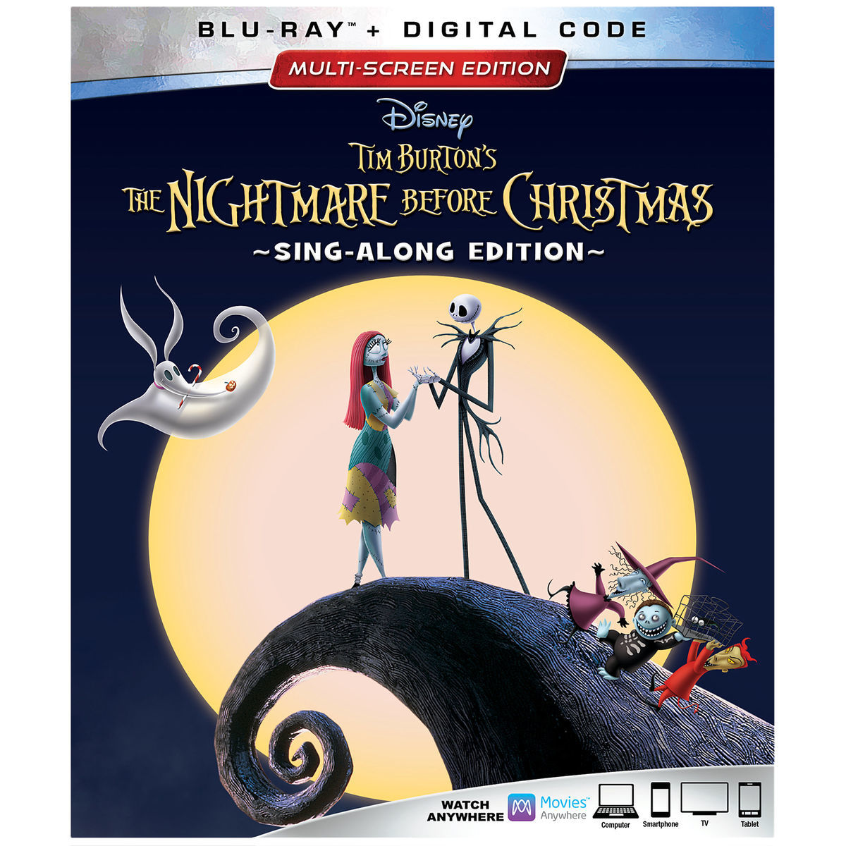 The Nightmare Before Christmas 25th Anniversary Edition Blu-Ray Out ...