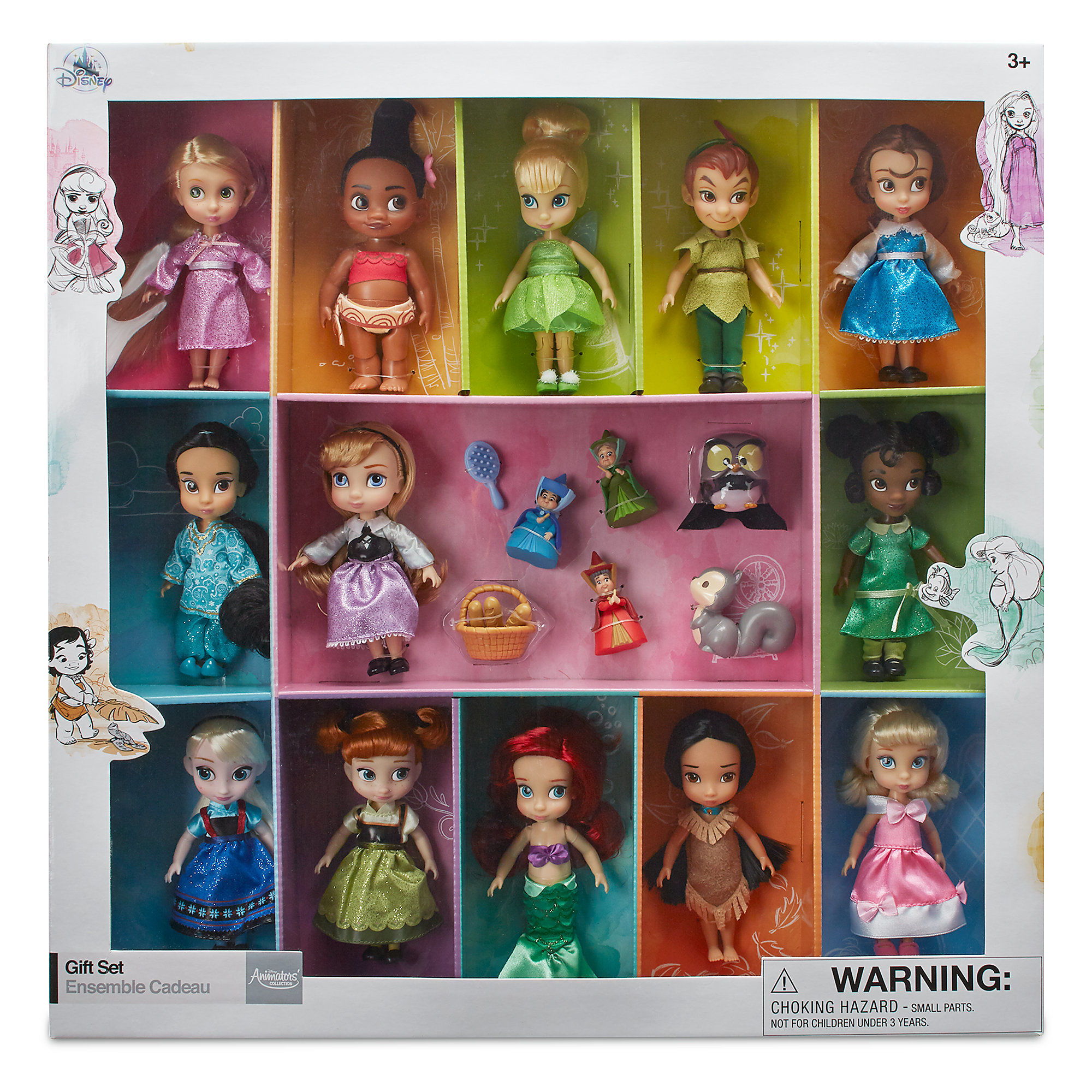 Disney Animators Collection Mini Doll Gift Set Out Now