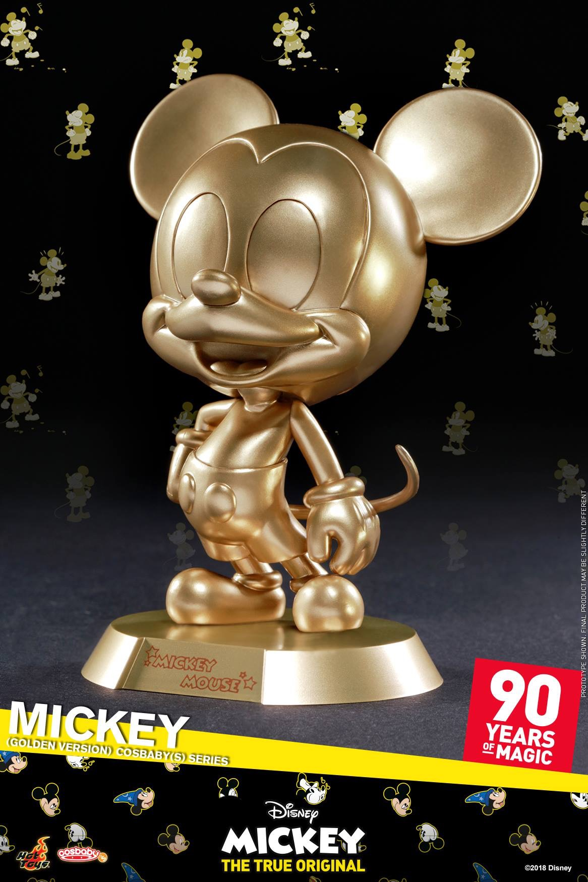 Mickey Mouse 90th Anniversary Cosbaby Figures Coming Soon