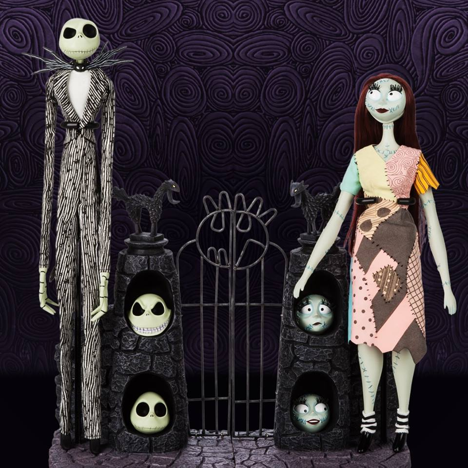 Nightmare Before Christmas 25th Anniversary Jack Skellington & Sally ...