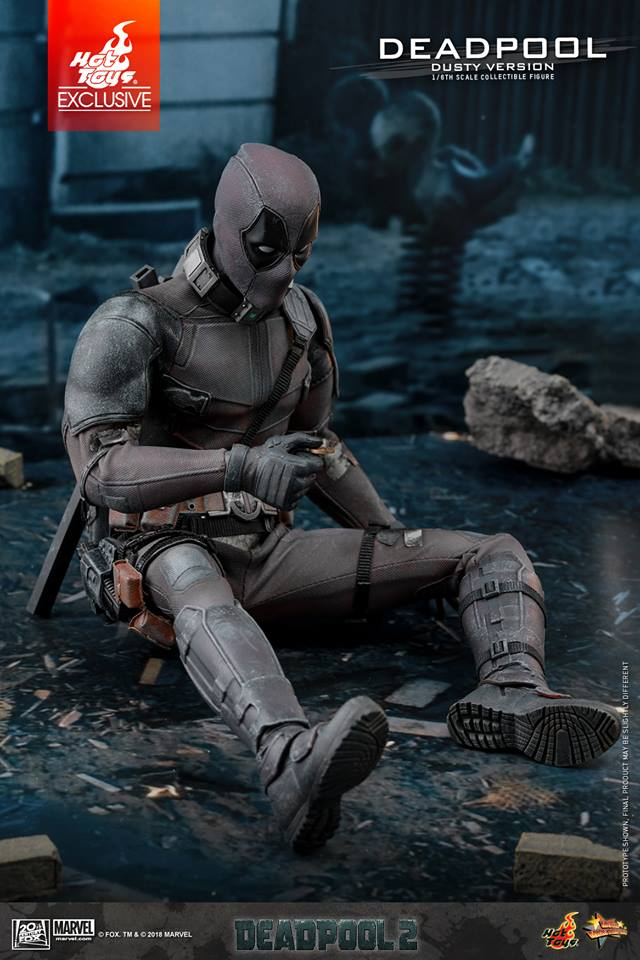 Deadpool Dusty Version Collectible Figure Coming Soon