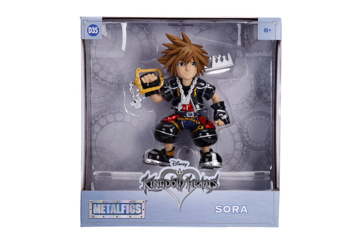 Disney Kingdom Hearts 20 Figures Nano Metalfigs