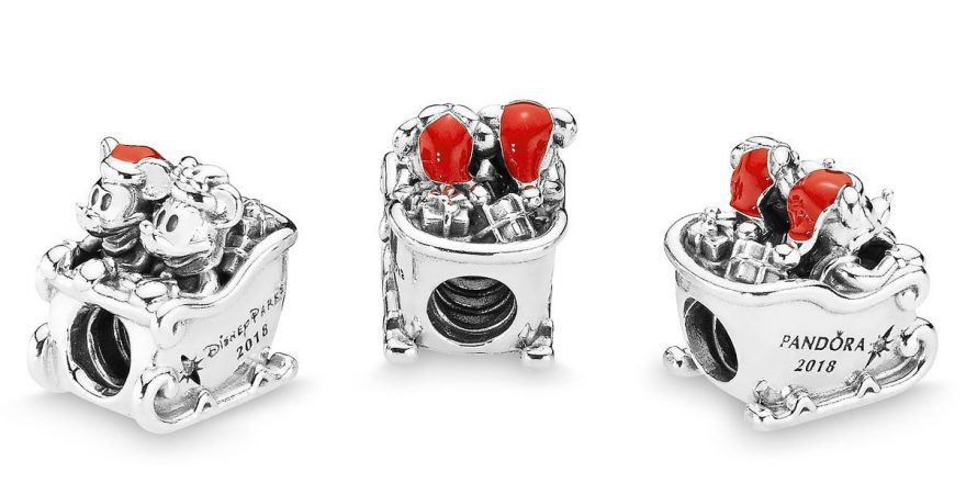 Santa Mickey And Minnie Mouse Pandora Charm Out Now
