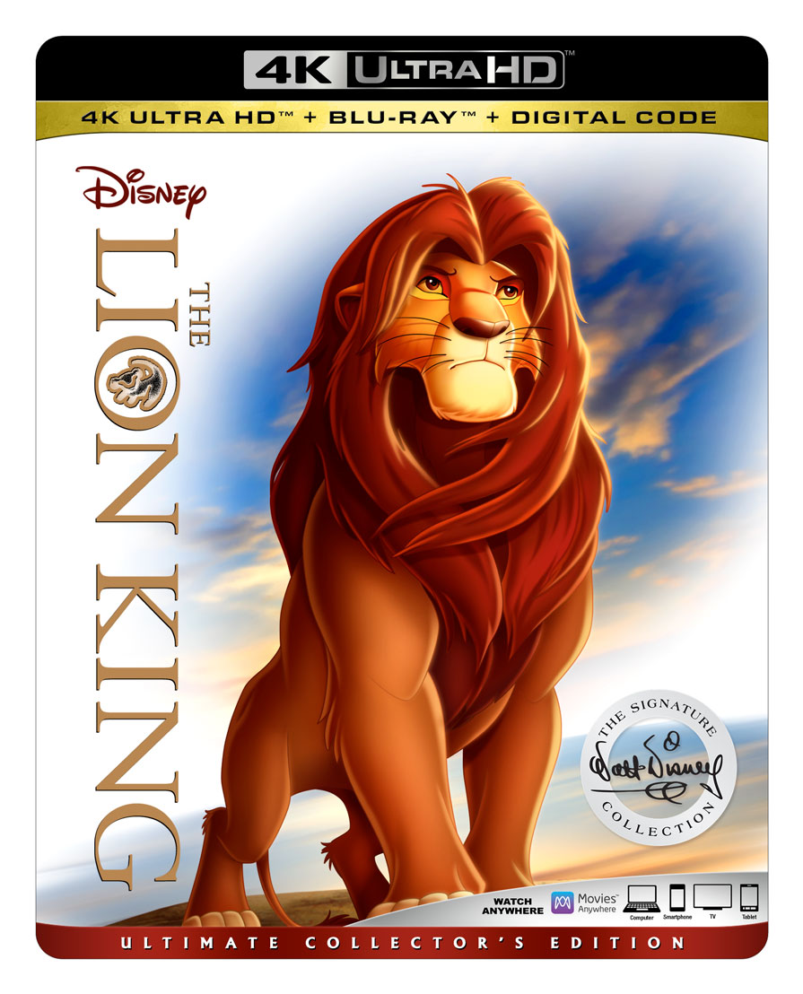 The Lion King Coming Soon To 4K Blu-Ray