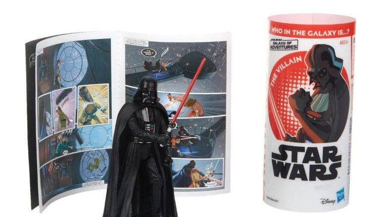 Hasbro Reveals Star Wars Galaxy Of Adventures Action Figures Diskingdom Com Disney
