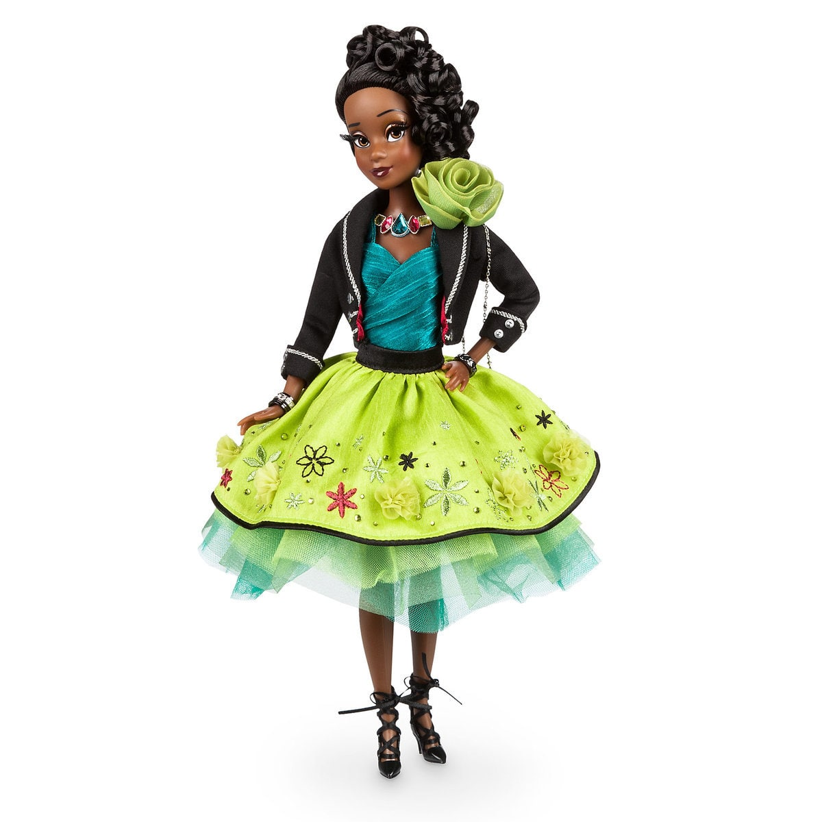 Tiana Disney Designer Collection Premiere Series Doll Out