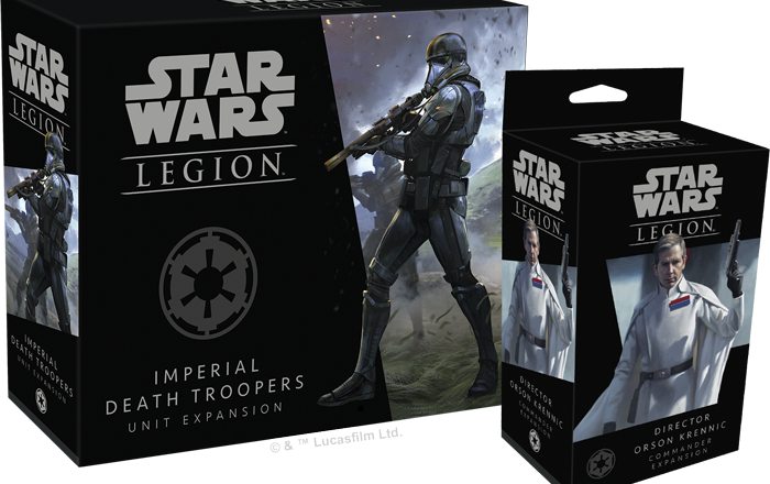 Two New Star Wars Legion Rogue One Expansions Announced