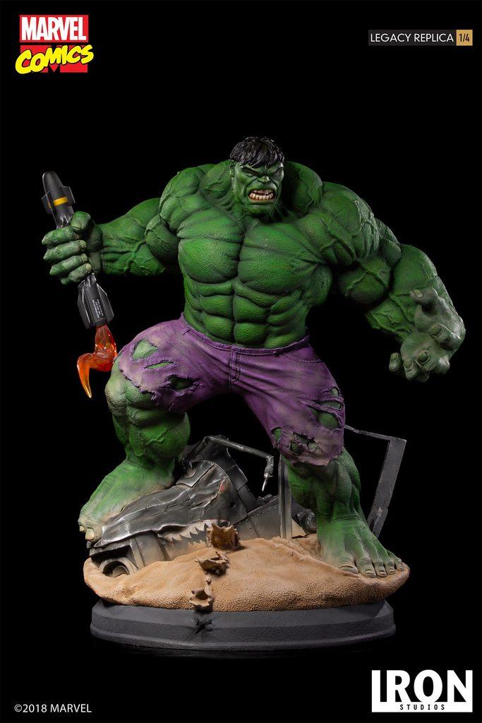 Marvel Comics Hulk Iron Studios Statue Coming Soon