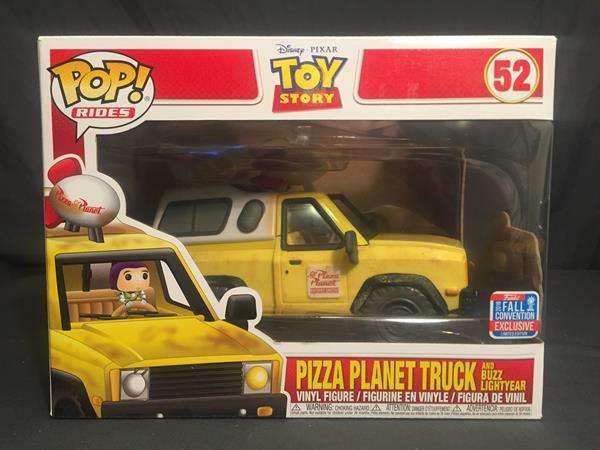 Review Pizza Planet Truck Pop Ride Fall Convention