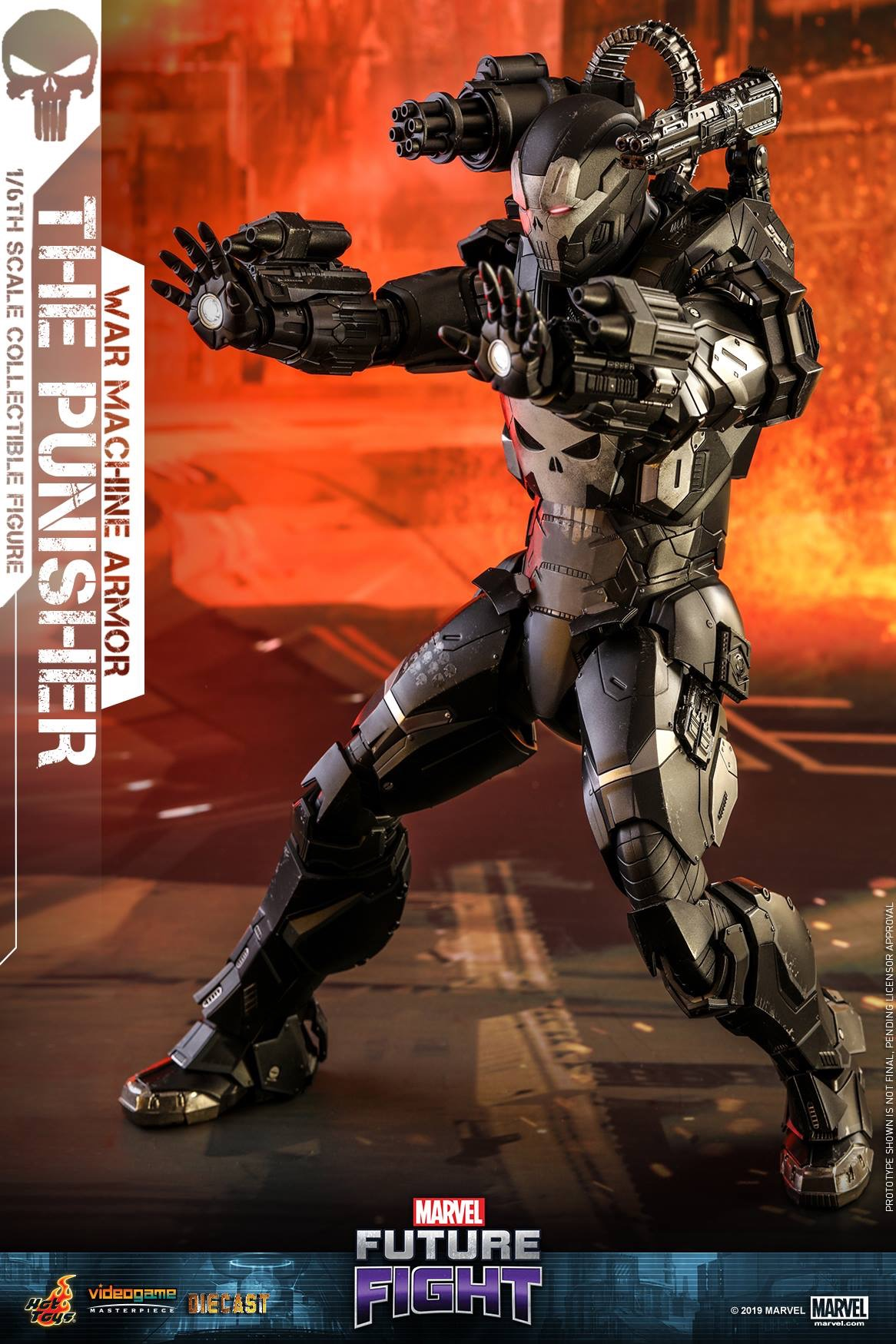 MARVEL Future Fight – The Punisher (War Machine Armor ...