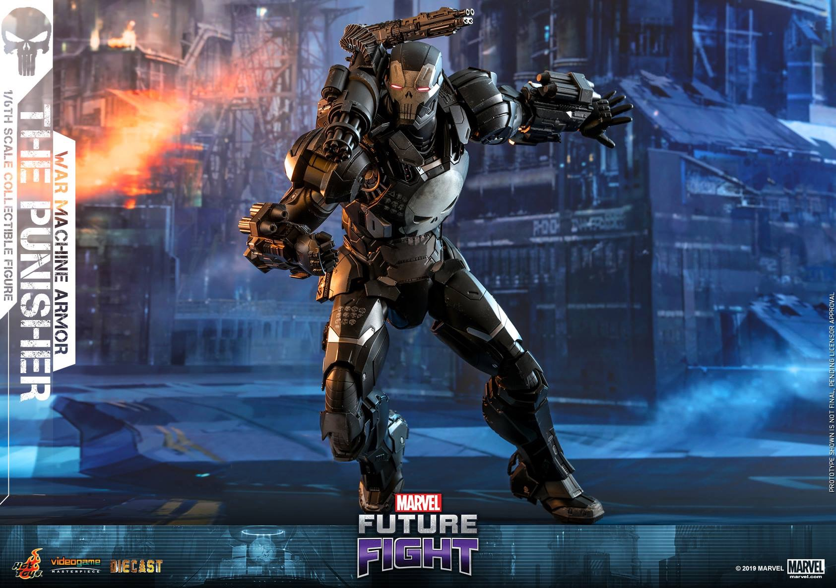 Marvel Future Fight The Punisher War Machine Armor