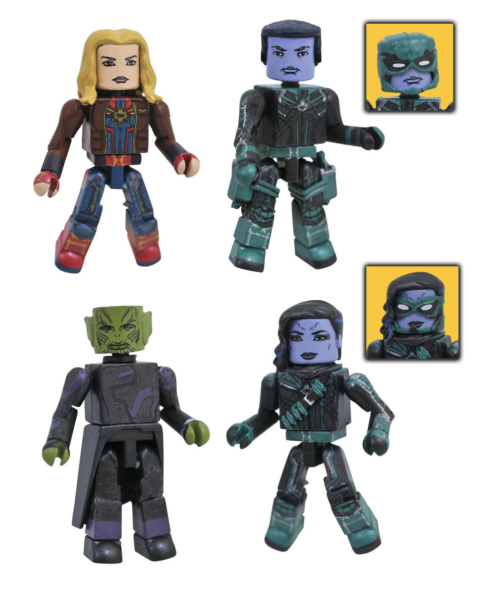 Captain Marvel Minimates Out Now At Walgreens Diskingdomcom