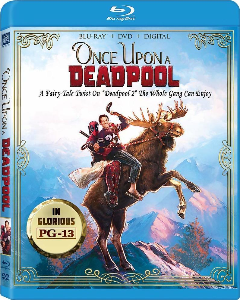 Once Upon A Deadpool Coming Soon To Blu-Ray | | DisKingdom