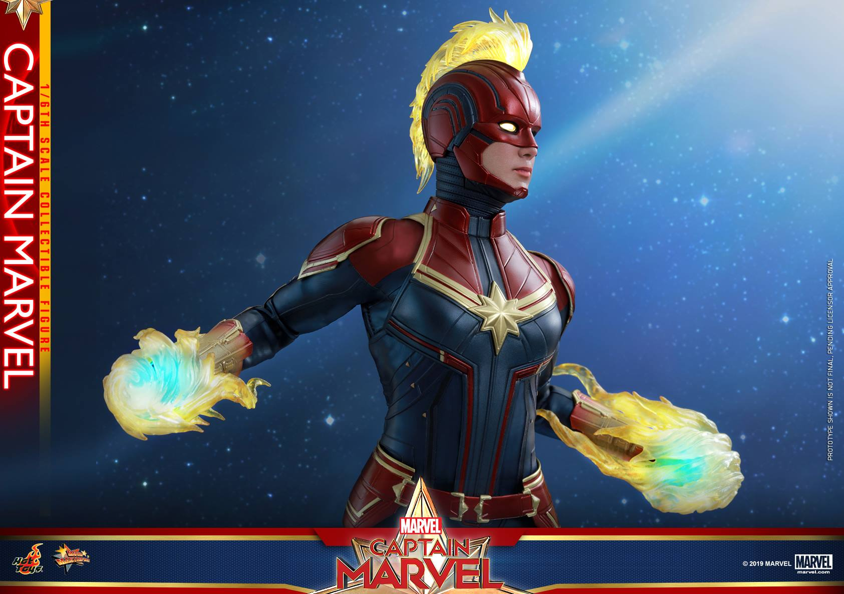 Captain Marvel 1 6th Scale Collectible Figure Coming