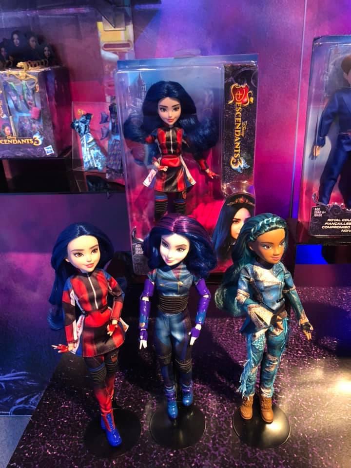Descendants 3 New York Toy Fair Preview Diskingdom