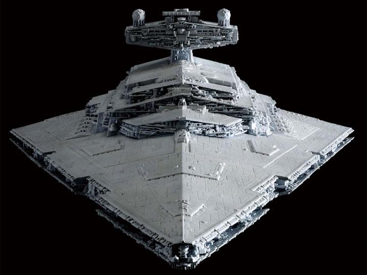 Star Wars Star Destroyer 1/5000 Scale Model Kit Coming Soon