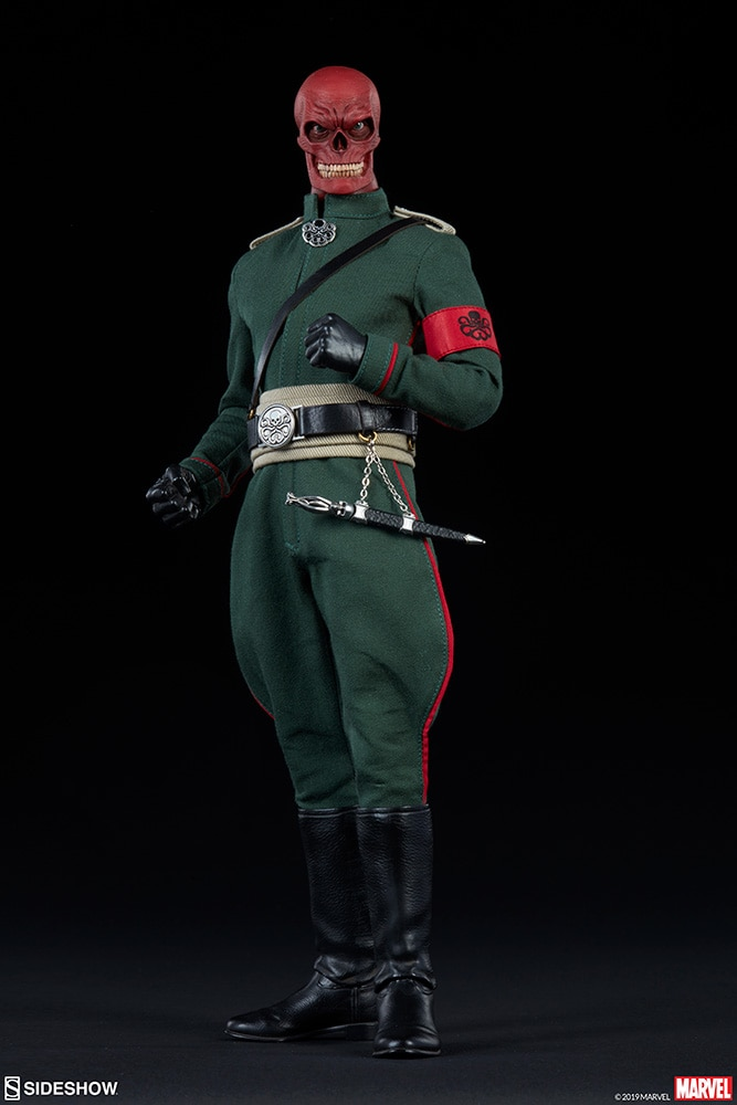 Red Skull Sixth Scale Figure Coming Soon Diskingdom