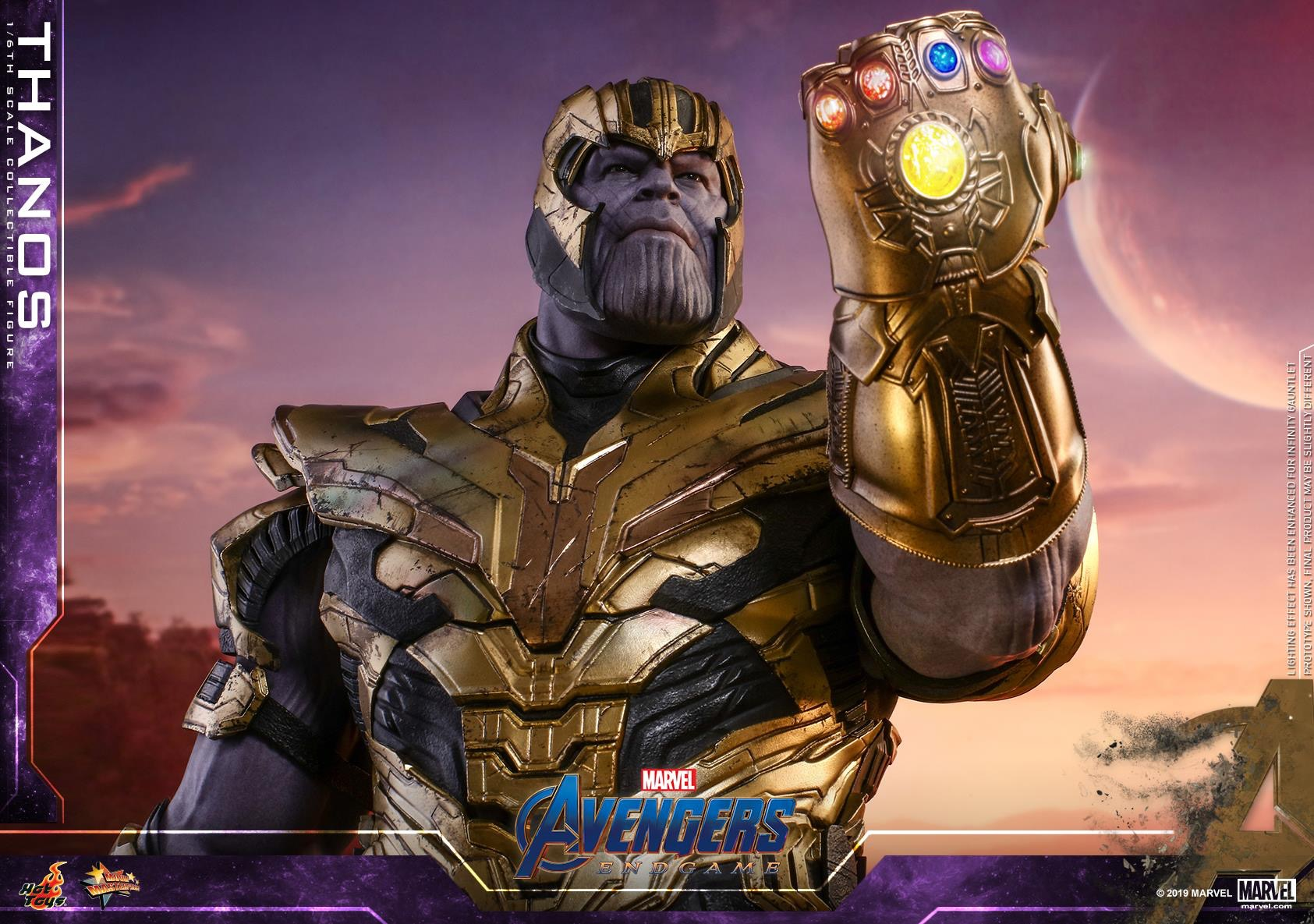 Avengers Endgame 1 6th Scale Thanos Collectible Figure