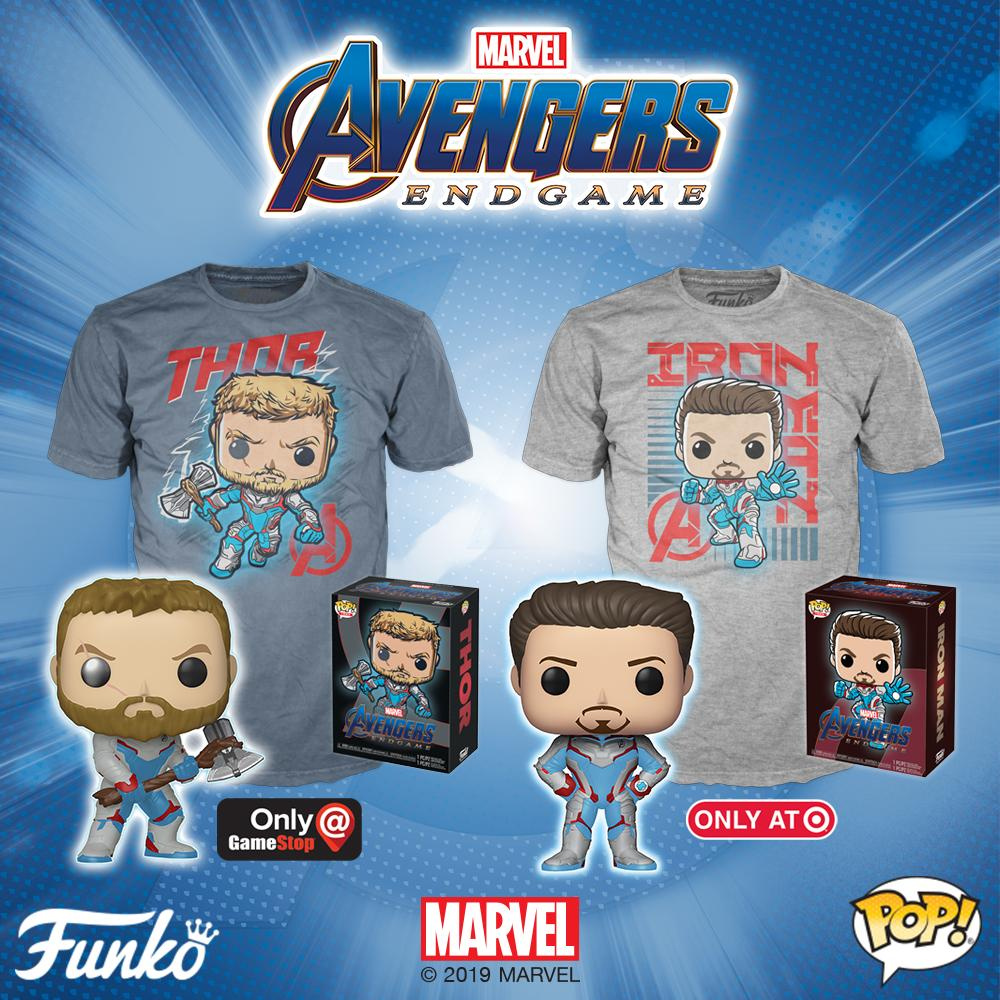 Marvel Avengers Endgame Pop Vinyls Announced