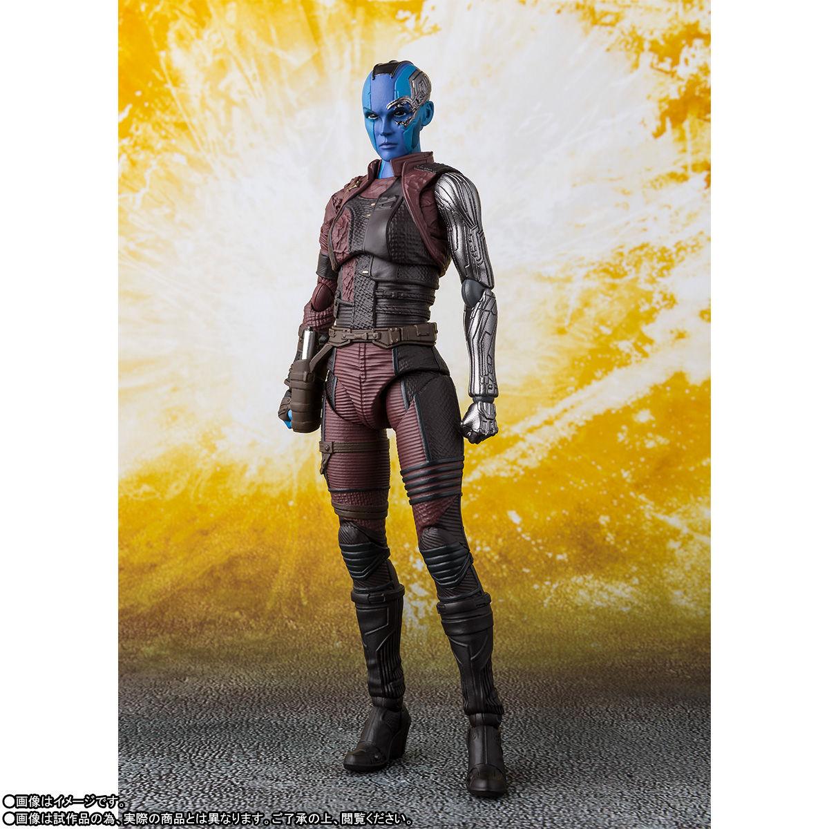 Avengers Infinity War Nebula S H Figuarts Figure Coming
