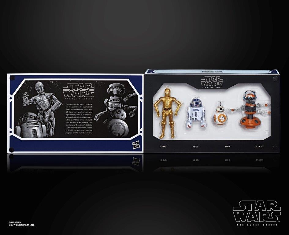 "Star Wars Disneyland Galaxy/'s Edge Black Series The First Order 6/"" Exclusive Set"