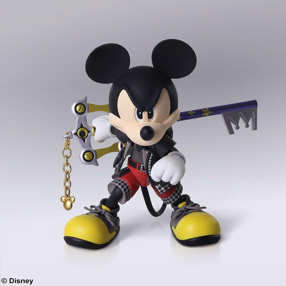 Kingdom Hearts 3 King Mickey Bring Arts Figure Coming Soon