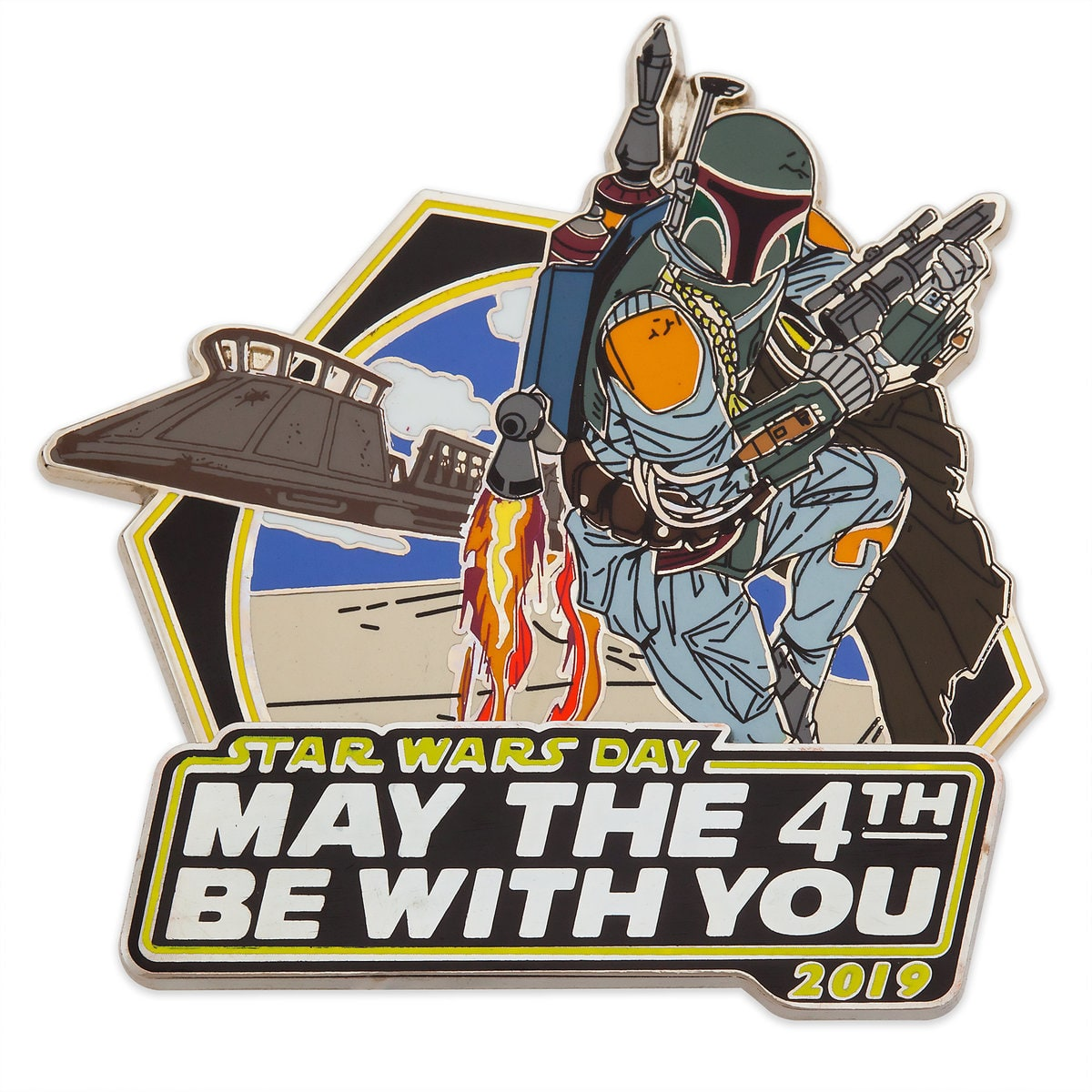 "Star Wars Day May 4: Star Wars Day ""May The 4th Be With You"" Pin Out Now"