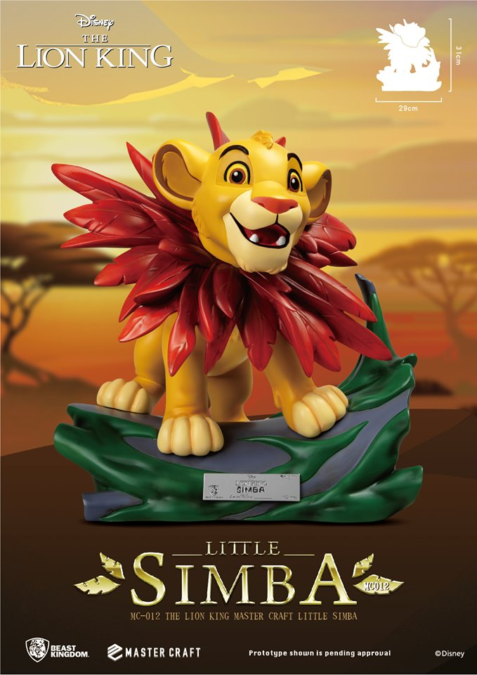 Disney S The Lion King Little Simba Mc 012 Statue Coming