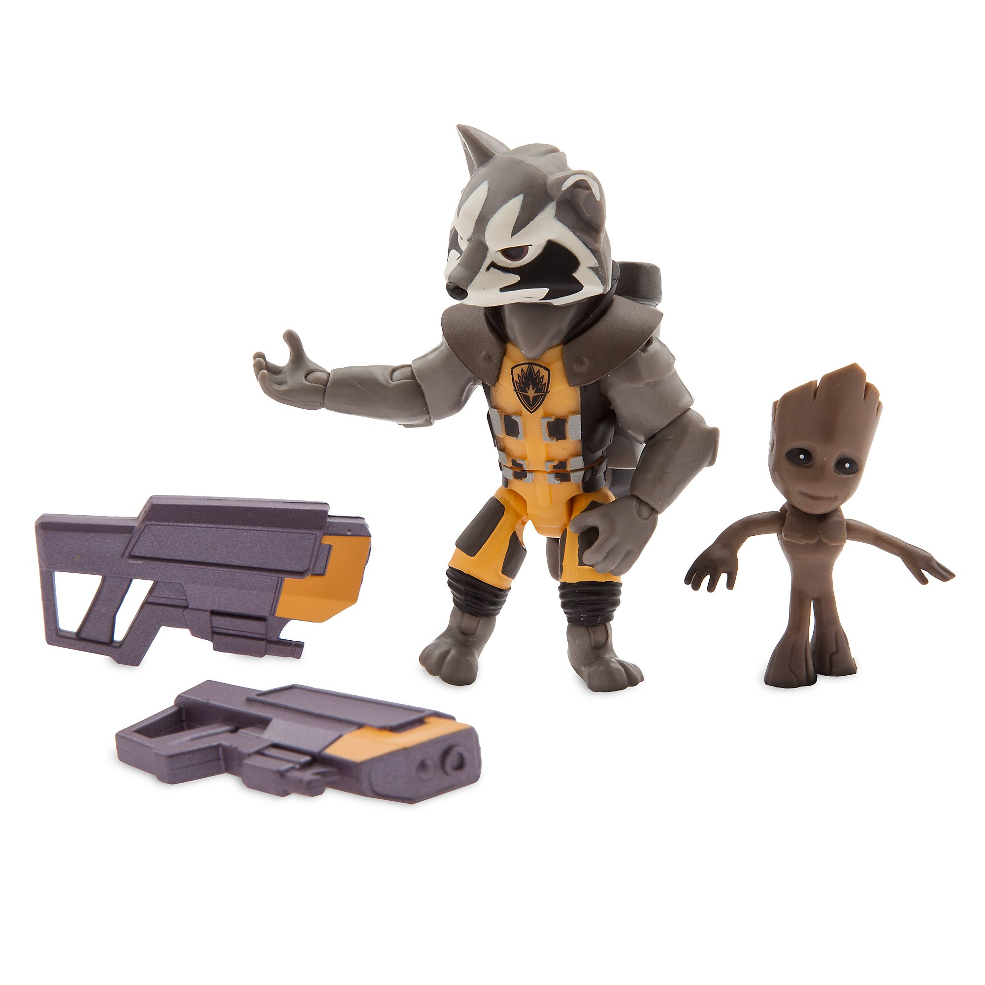 Disney Toybox Marvel Rocket Raccoon /& Groot Exclusive Action Figure