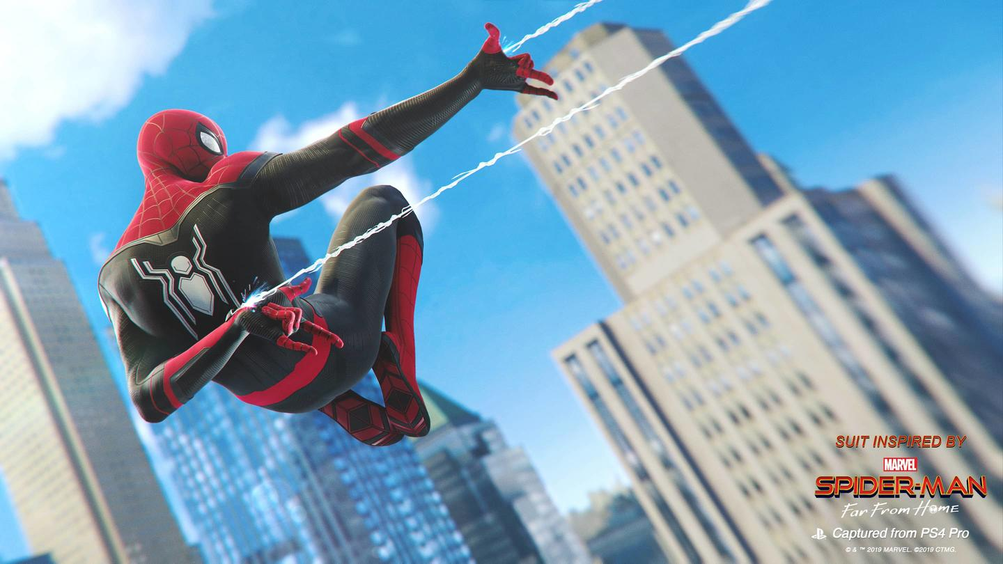 Two New Far From Home Suits Added To Ps4 S Spider Man