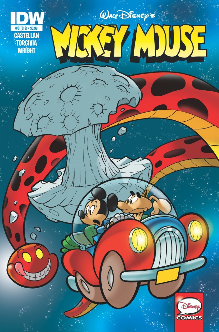 Mickey Mouse 6 Comic Book Review Diskingdom Com