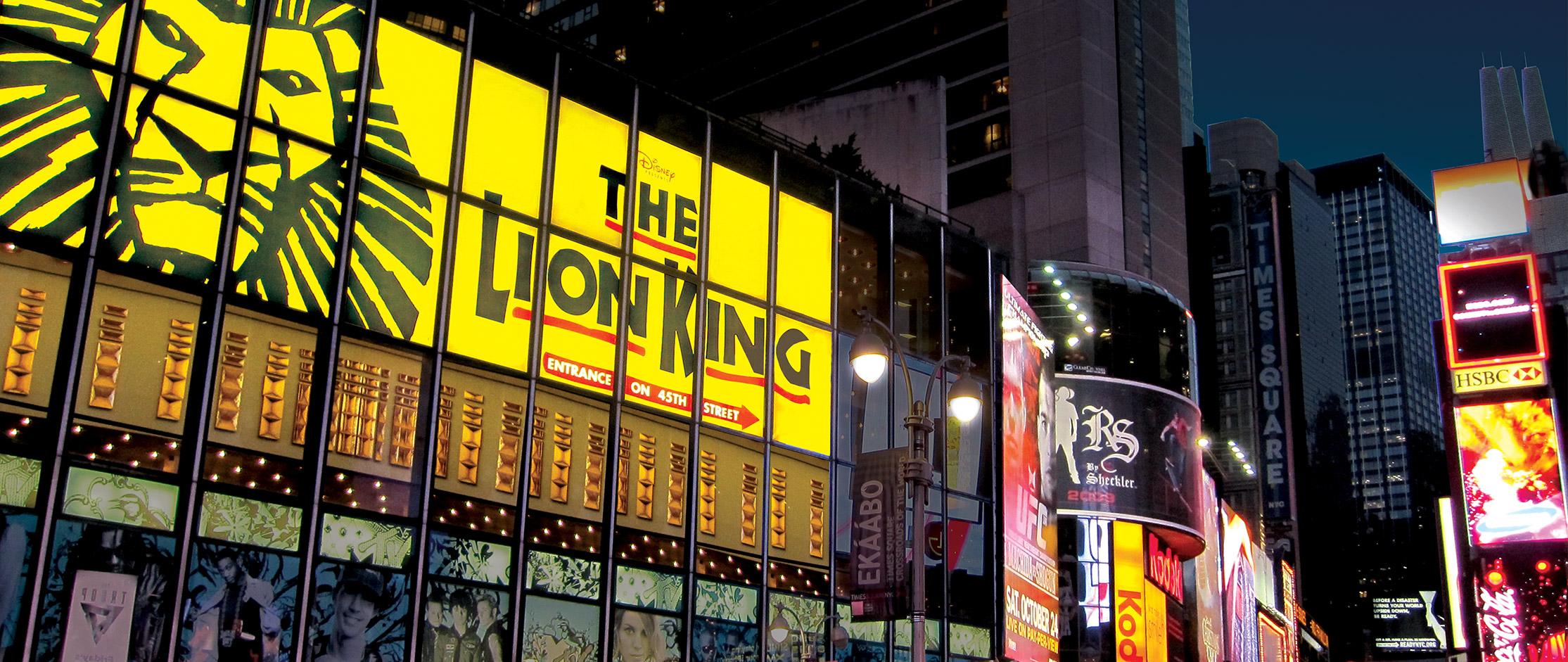 the lion king  u0026 aladdin dominate new york u0026 39 s broadway box
