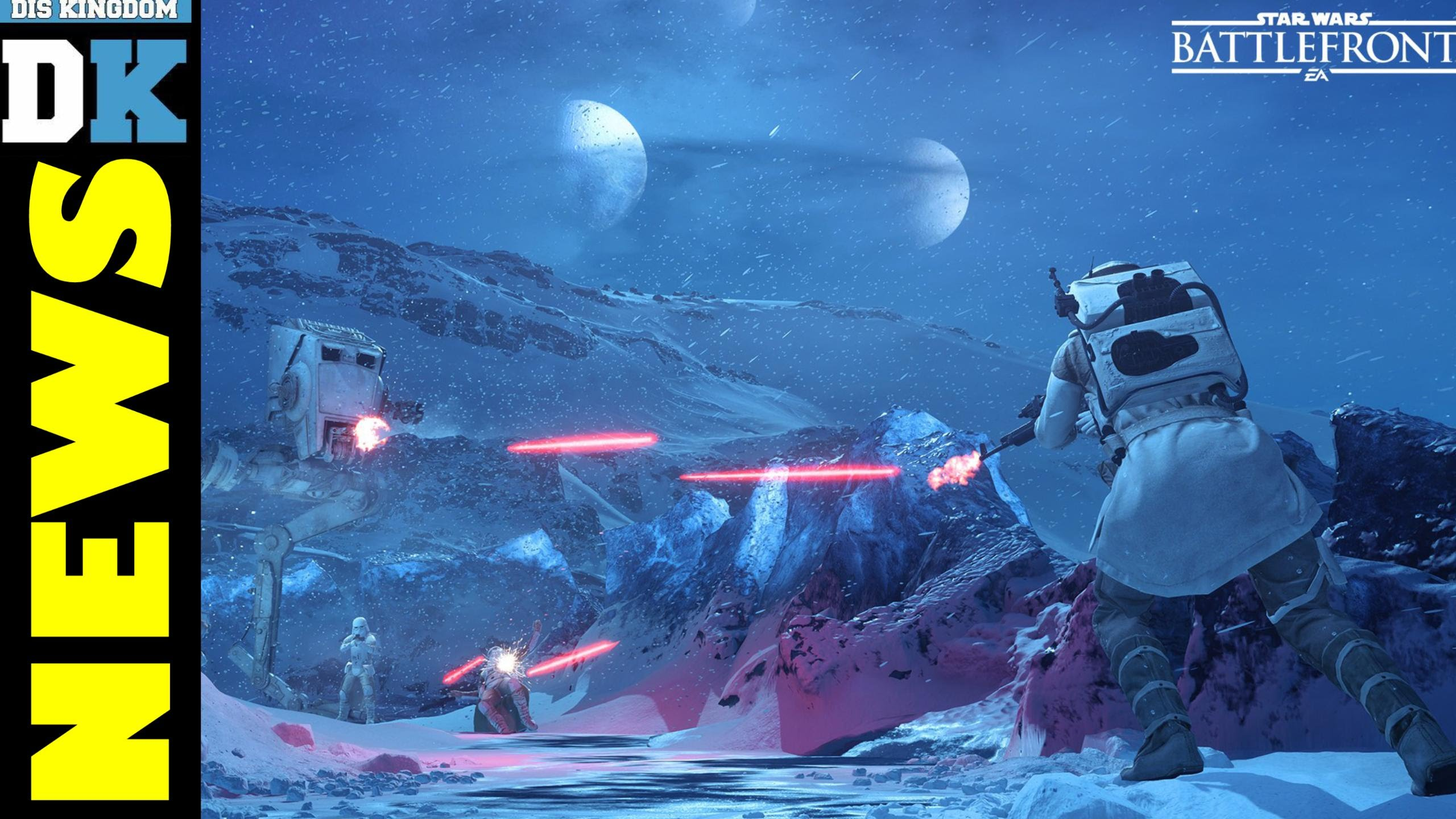 New Hoth Map Modes Added To Star Wars Battlefront