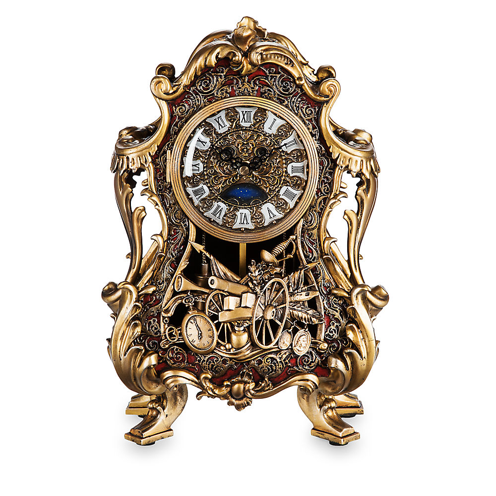 Limited Edition Beauty The Beast Clock Candelabra Out Now Diskingdom Com Disney Marvel Star Wars Merchandise News