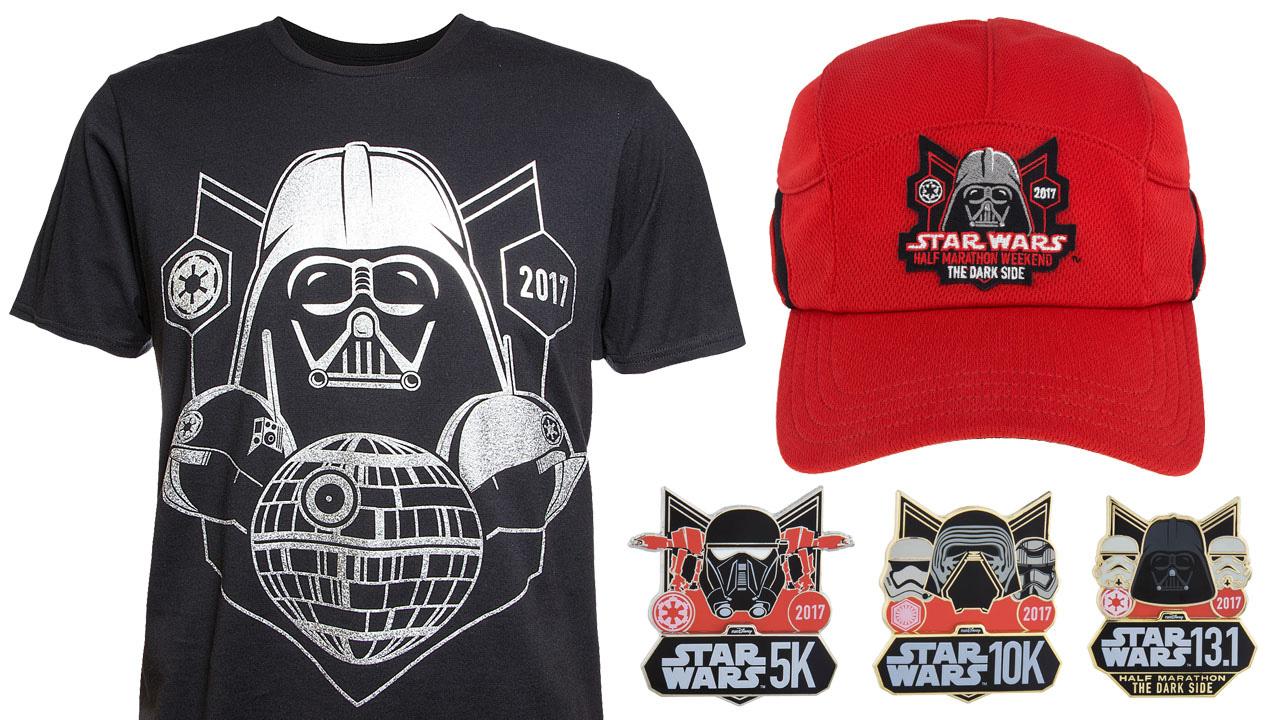 Star wars half marathon 2017 merchandise revealed for Merchandising star wars