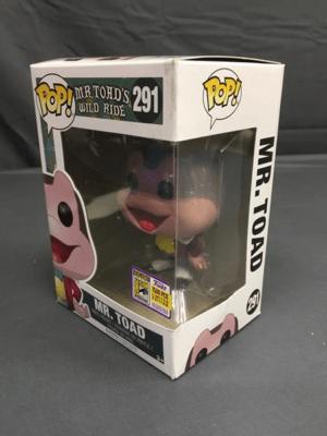 Pop! Review: Disney Parks' Mr  Toad (SDCC Exclusive