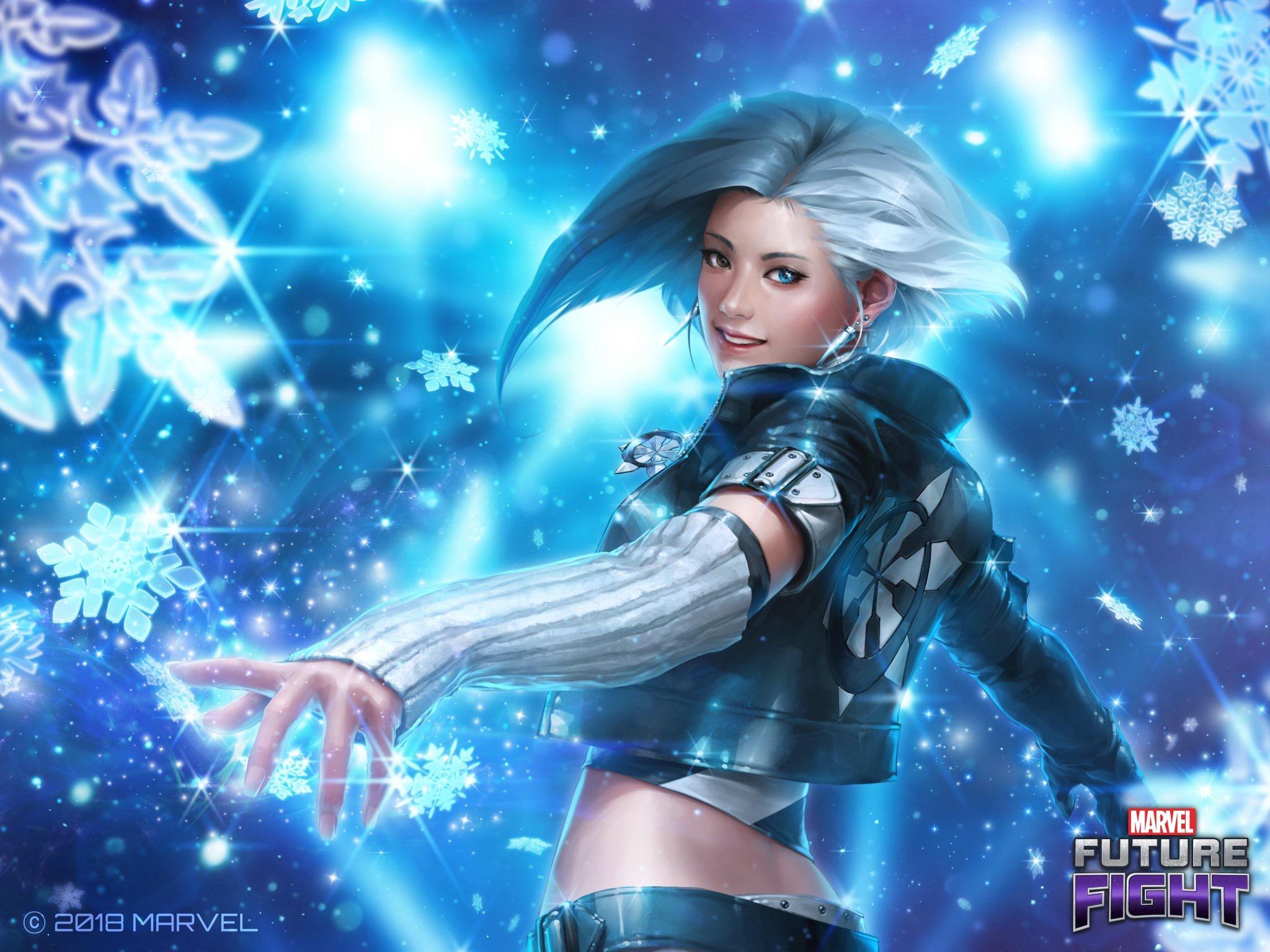 K Pop Super Hero Luna Snow Coming To Marvel Future Fight