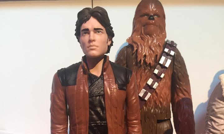 Han Solo Star Wars Solo Movie Titan Action Figure Brand New