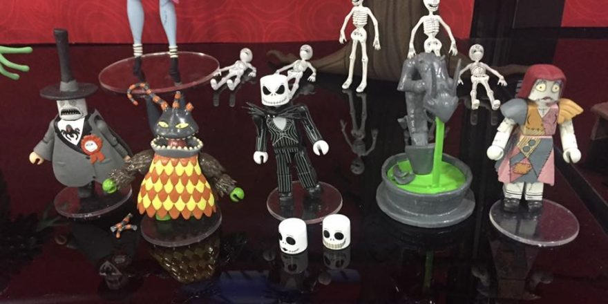 Closer Look At Diamond Select Toy's Nightmare Before Christmas Collectibles