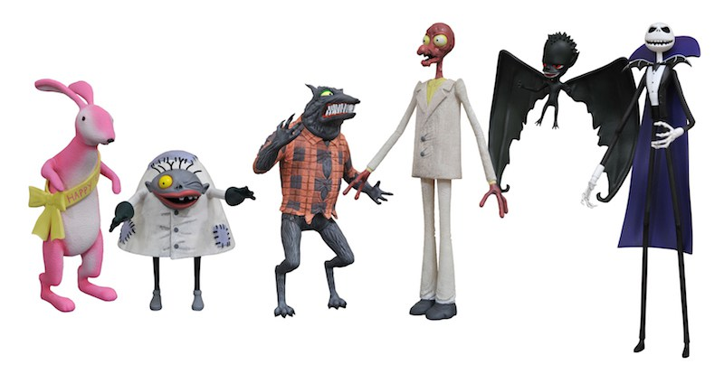 Nightmare Before Christmas Action Figures Coming Soon