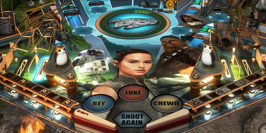 Star Wars: The Last Jedi Pack Coming To Pinball FX3 | | DisKingdom