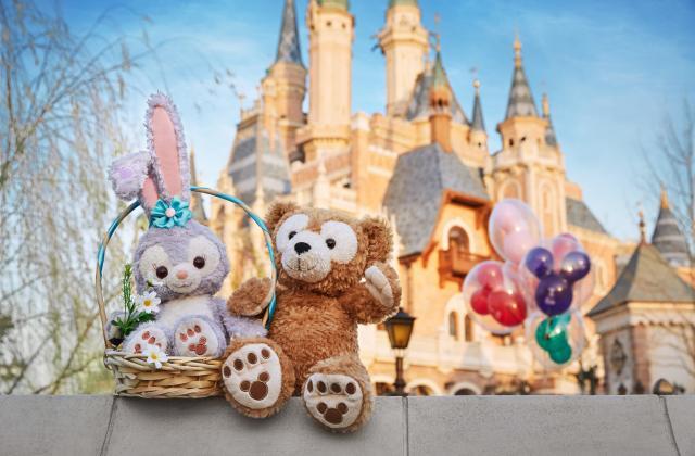 SHDR Stella lou raincoat cute keychain Shanghai Disney Disneyland Exclusive