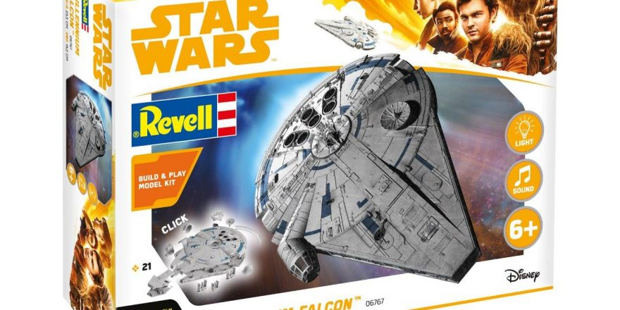 Solo: A Star Wars Story Revell Model Kits Coming Soon